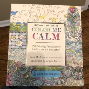 Brand new Color me Calm coloring book
